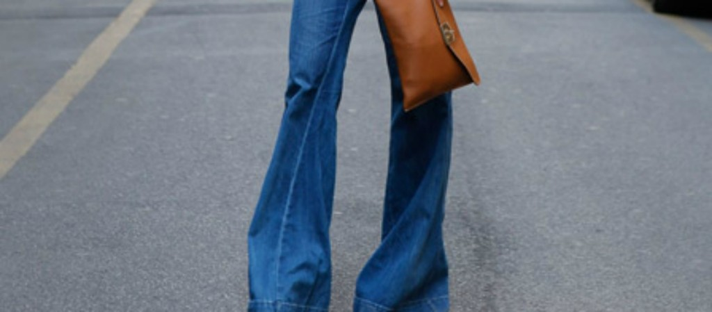 How to style flared jeans