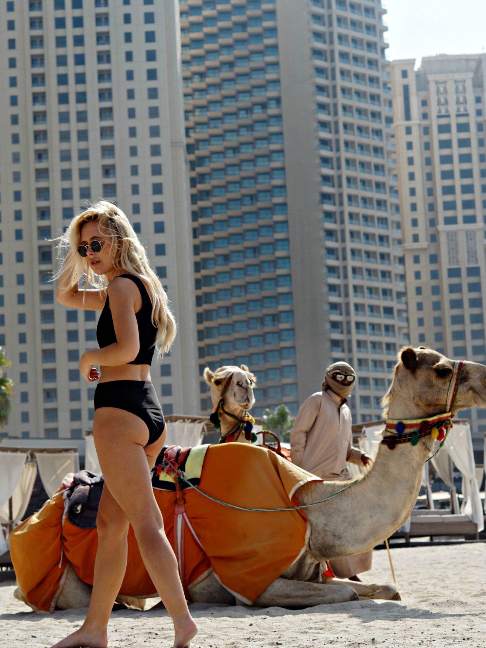 Dubai With Radisson Blu I Am Georg White 1 Gratis Sexy V Neck Lace Bra