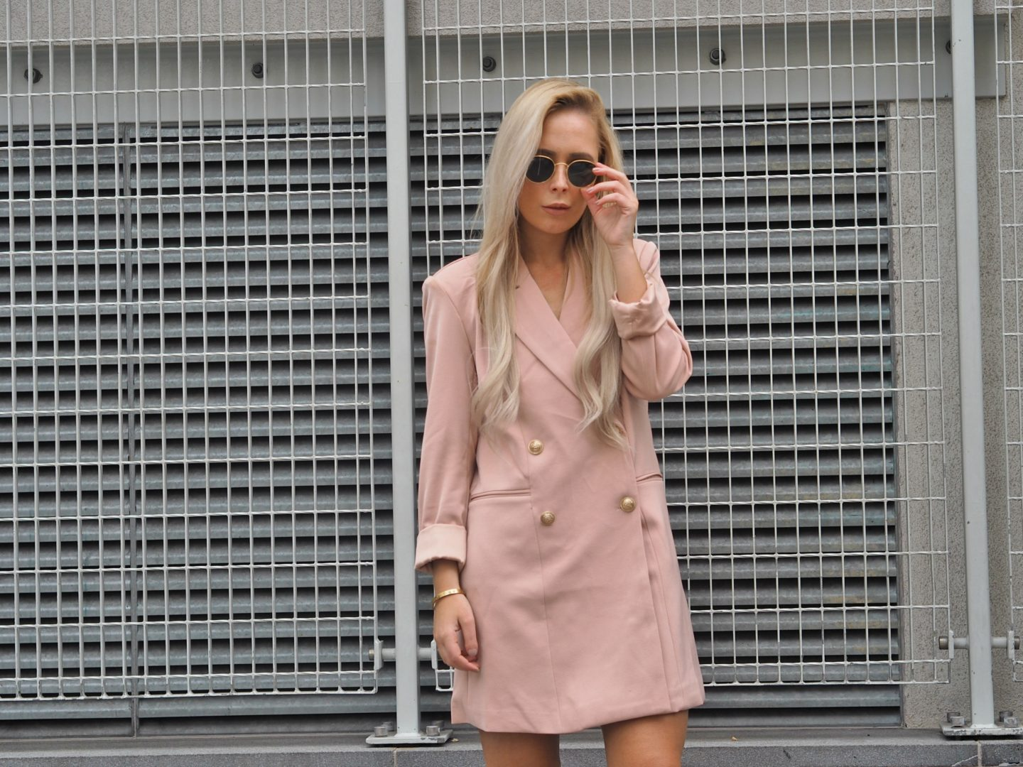 The Popular Blazer Dress