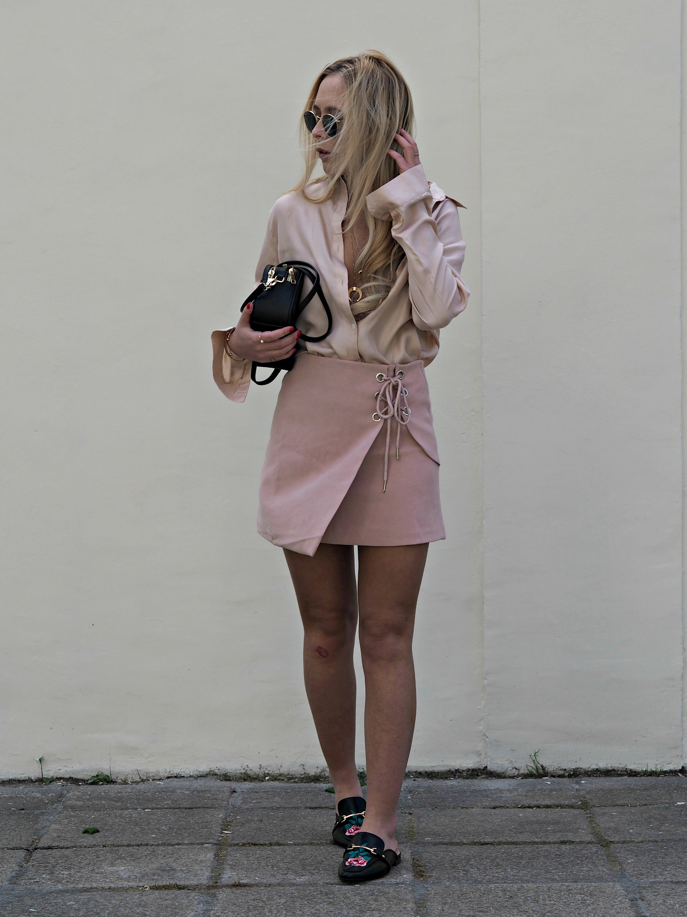 the blush pink trend that will change your wardrobe i am georg white