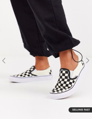 Vans Classic Slip-On checkerboard trainers