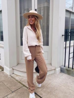 Full length trousers